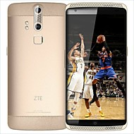 "ZTE Straight 5.5 "" Android 5.0 Smartphone 4G (Chip Duplo Octa Core 13 MP 4GB + 128 GB Dourado)"
