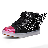 Boys' Shoes Outdoor / Athletic / Casual Fashion Sneakers Black / White / Gold / Orange