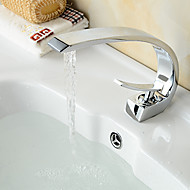 American Standard Centerset Single Handle One Hole in Chrome Bathroom Sink Faucet