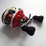 Carrete de la pesca Carretes de lanzamiento 6.3:1 12 Rodamientos de bolas -ManosPesca de baitcasting / Pesca de agua dulce / Pesca de