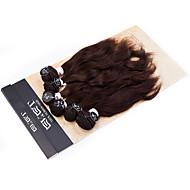 Précolorée Tissages Cheveux Cheveux Brésiliens Ondulation naturelle tissages de cheveux