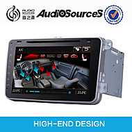 8Inch 1024x600 Capacitive Screen 2 Din Car Stereo For Golf V/EOS/Passat B6/Jetta Built-In CANBUS With SWC IPAS OPS