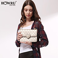 HOWRU ® Women 's PU Tote Bag/Single Shoulder Bag/Crossbody Bags-Champagne