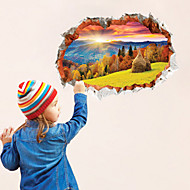 Landscape Wall Stickers 3D Wall Stickers On Plastic 24x36inch(60x90cm)