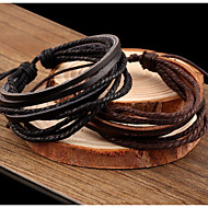Vintage / Casual Leather Leather Bracelet