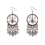 Women's European Style Fashion Tassel Droplets Earrings