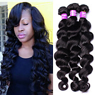 Burmese Virgin Hair Loose Wave Hair Extensions Cheap 3pcs Lot Human Hair Weaves Unprocessed Burmese Loose Wave