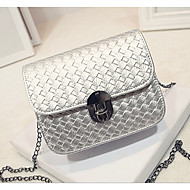 Women PU Shoulder Bag White / Gold / Silver / Black