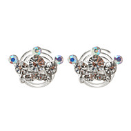 Women's Rhinestone / Alloy Headpiece - Wedding / Special Occasion Hair Clip 2 Pieces