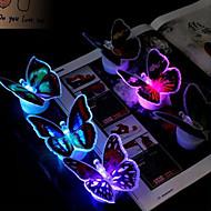 7 * 7 * 5.5cm święta kolorowe zabawki kreatywne motyl miga lampka diodowa prezenty 1szt