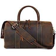 Men Cowhide Casual / Outdoor / Professioanl Use Shoulder Bag / Tote / Travel Bag - Brown