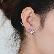 Stud Earrings Rhinestone Birthstones Statement Jewelry Gold Silver Jewelry