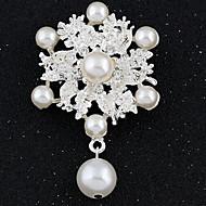 Imitation Diamond Mode Hvid Smykker Fest Speciel Lejlighed