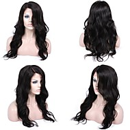 Premierwigs 8''-26'' Big Natural Wave Brazilian Virgin Glueless Full Lace Human Hair Wigs Glueless Lace Front Wigs 8A