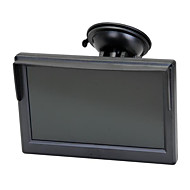 "5 ""pantalla tft lcd del coche Monitor Retrovisor respaldo inversa para vcd dvd cámara"