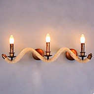 Contracted Balcony Stair Lamp Twisted Rope Wall Lamp