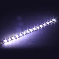 4 coches 30cm 15 SMD LED lámpara de luz de tira llevada flexible blanca 12v impermeable
