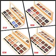 12 Colors Paleta očních stínů Matné Oční stíny paleta pudr Sada Günlük Makyaj / Dumanlı Makyaj