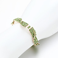 Women's Chain / Tennis Bracelet Alloy Rhinestone