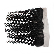 remy vergine brasiliana merletto dei capelli umani frontal chiusura 1b 120% 13x4 pollici onda profonda balza in pizzo frontale dei capelli