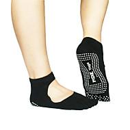 dérapant yoga chaussettes chaussettes orteils de coton