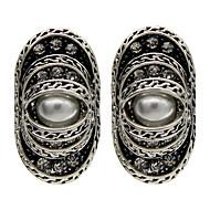 Women's Fashion Silver Stud Earring 1pair