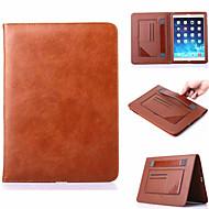 multifunctionele standaard super slim lederen tas voor Apple iPad mini 4 (verschillende kleuren)