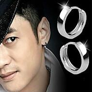 Férfi Női Beszúrós fülbevalók Divat jelmez ékszerek Ezüst Ékszerek Kompatibilitás Esküvő Parti Napi