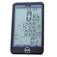 Wired Odometer Speedometer Bicycle Computer Touch Screen Backlight Black