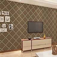 Geometric Tapetti Nykyaikainen Seinäpinnat,Non-woven Paper Kyllä