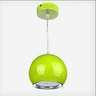 1w Závěsná světla ,  moderní - současný design / Kulatá Obraz vlastnost for LED KovJídelna / Kuchyň / studovna či kancelář / dětský pokoj