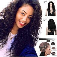 Big Curly Brazilian Virgin Human Hair Wigs Glueless Full Lace Wigs Glueless Lace Front Wigs Silk Base Wigs For Women