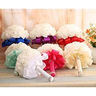 Bouquets ( Blau / Fuchsia / Rot / Grün / Weiß / Purpur / Elfenbein , Schaumstoff ) - Rundförmig