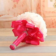 Bouquet - Rose - Blu / Fucsia / Rosso / Verde / Bianco / Porpora / Avorio - di Schiuma