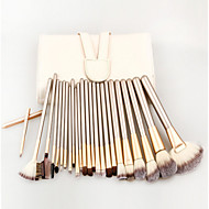 24 Set di pennelli Capelli sintetici Professionale / Viaggi / Coppa larga / Ecologico / Portatile Legno Viso / Occhi / Labbro Altro