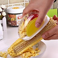 ZIQIAO Kitchen Magic Manual ABS + Stainless Steel Corn Stripper