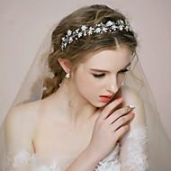 Dame / Blomsterpige Rhinsten / Legering Medaljon Bryllup / Speciel Lejlighed Pandebånd Bryllup / Speciel Lejlighed 1 Stykke
