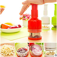Fruit & Vegetable Cutters Stainless Steel Onion Garlic Ginger Slicer Slasher Random Color