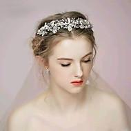 Serre-tête Casque Mariage / Occasion spéciale Strass / Alliage / Imitation de perle Femme / Jeune bouquetière Mariage / Occasion spéciale