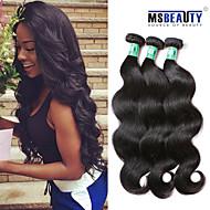 """3 PC / Los 8 """"-30"""" peruanische reine Haarkörperwelle Haarverlängerungen aus 100% unverarbeitetes remy Menschenhaar spinnt"""