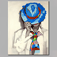 single moderní abstraktní čistá ruka kreslit připraven pověsit dekorativní olejomalba