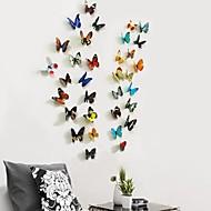 Niet-gepersonaliseerd - Vlinderthema - Plastic vlinder ( Groen / Grijs