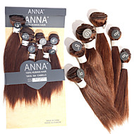 Tissages de cheveux humains Cheveux Brésiliens Droit 12 mois tissages de cheveux