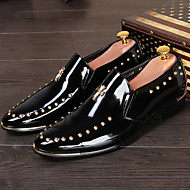 Men's Shoes Office & Career / Party & Evening / Casual Loafers / Slip-on Black / Brown / Burgundy