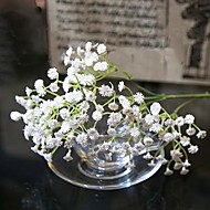 "23.6"" White Soft Artificial BabysBreath 1pc/set for Wedding and Home Decoration"