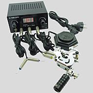 iniciante basekey 1 máquina de aço mini-tatuagem k16 kit com interruptor de alimentação