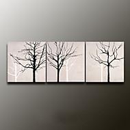 Handgeschilderde StillevenModern Drie panelen Canvas Hang-geschilderd olieverfschilderij For Huisdecoratie