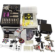 6 Machines BaseKey Tattoo Kit K601 Machine With Power Supply Grips Cups Needles(Ink not included)