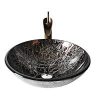 Set per lavandino bagno - Antico - Vetrotemperato ( Vetrotemperato )