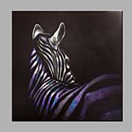 ενιαία σύγχρονη αφηρημένη καθαρό χέρι επιστήσω έτοιμος να κρεμάσει διακοσμητικά τη ζωγραφική zebraoil